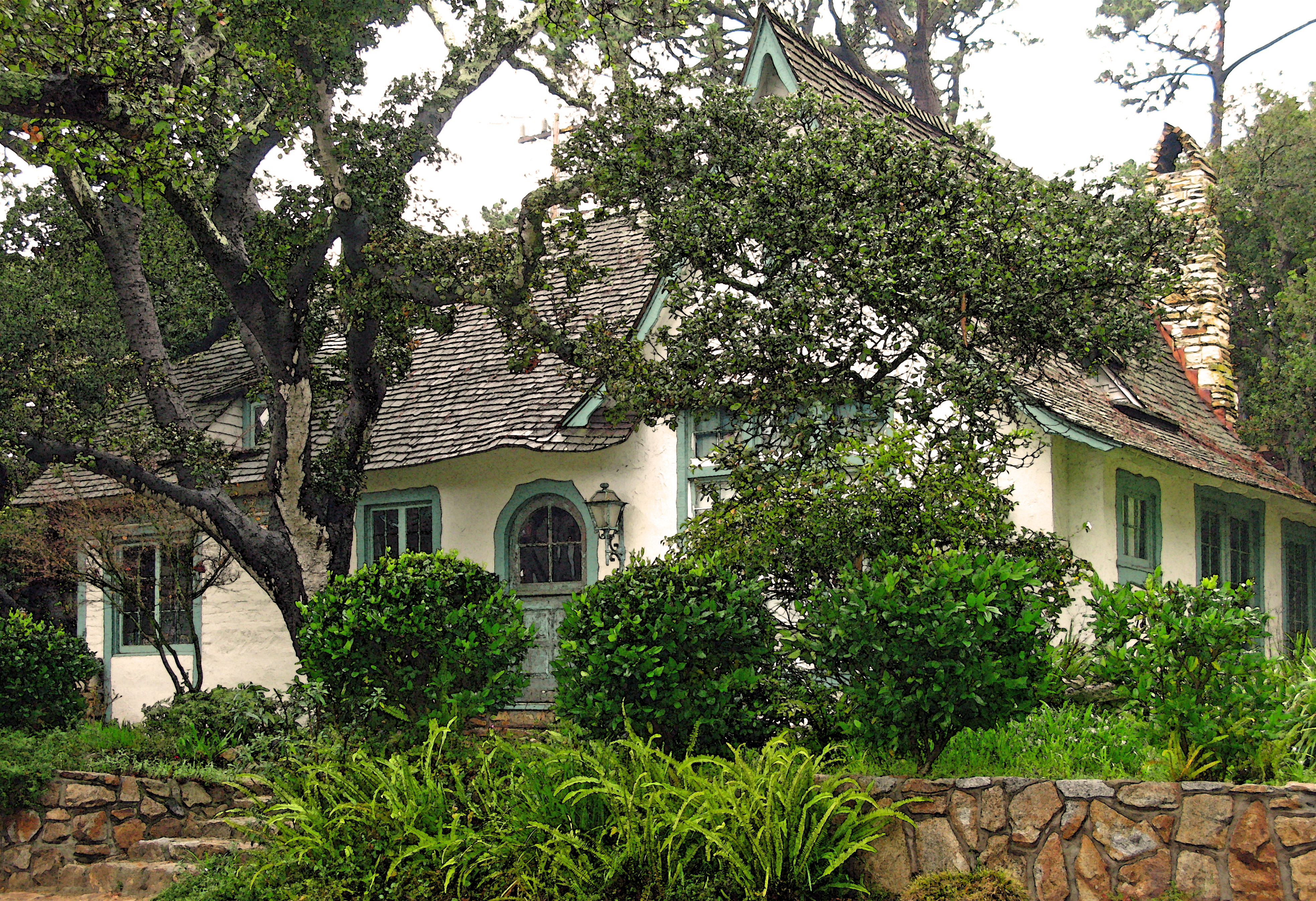 Hugh Comstock S Fairytale Cottages By The Sea Once Upon