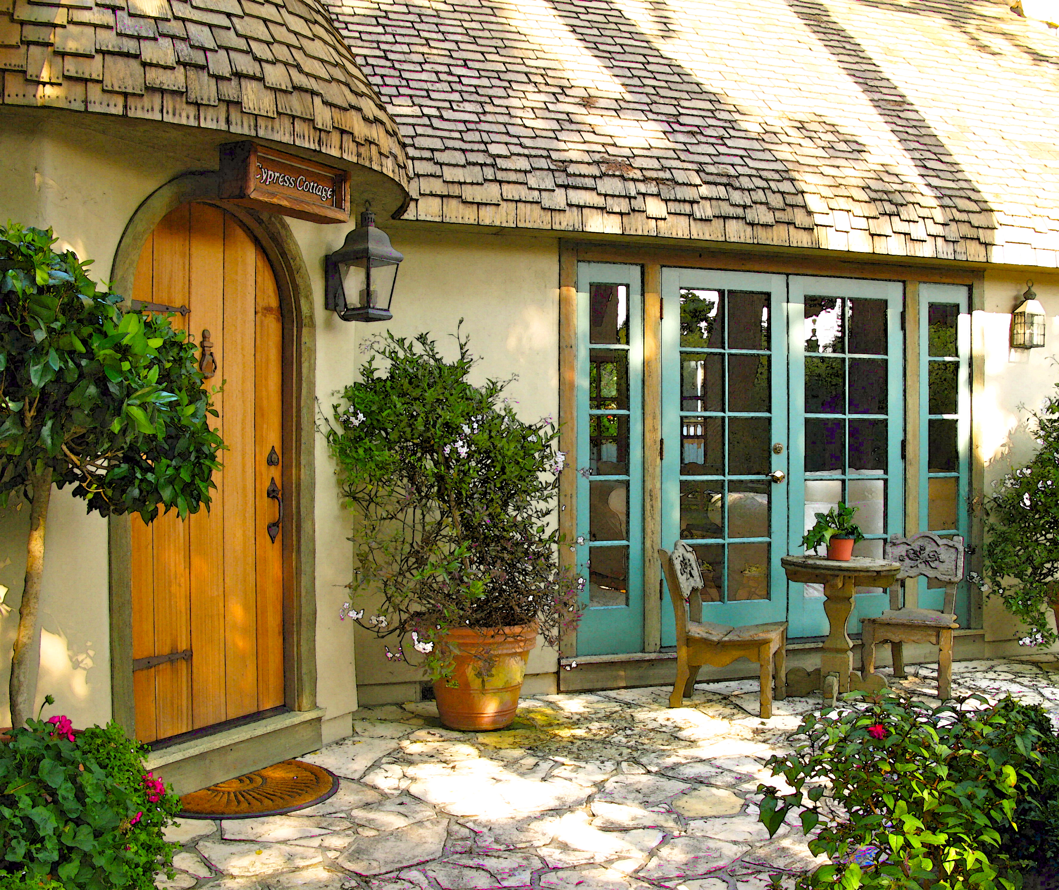 Cypress cottage once upon a time tales from carmel by for What is a cottage
