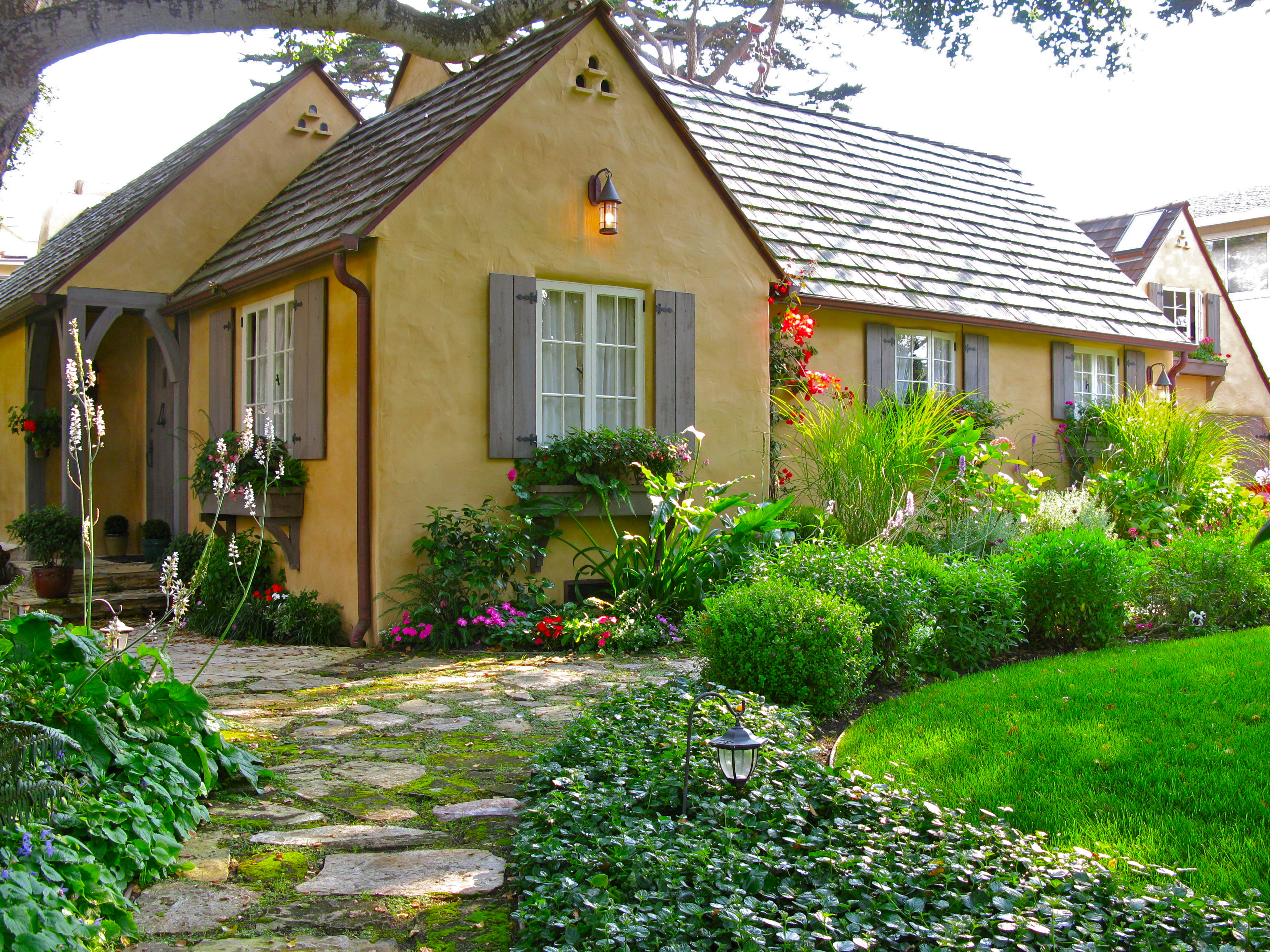 A STOCK COTTAGE ON CARMEL POINT