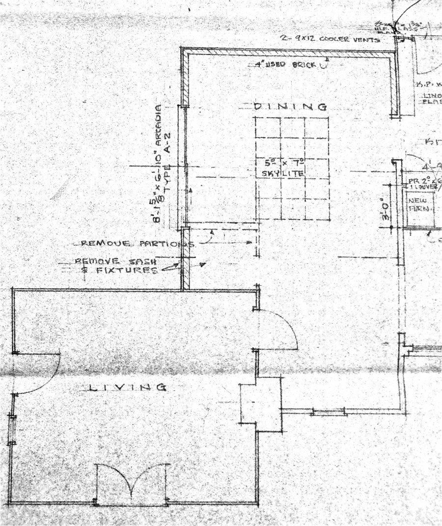Hugh comstock floor plan for the studio once upon a for Another word for ocean floor