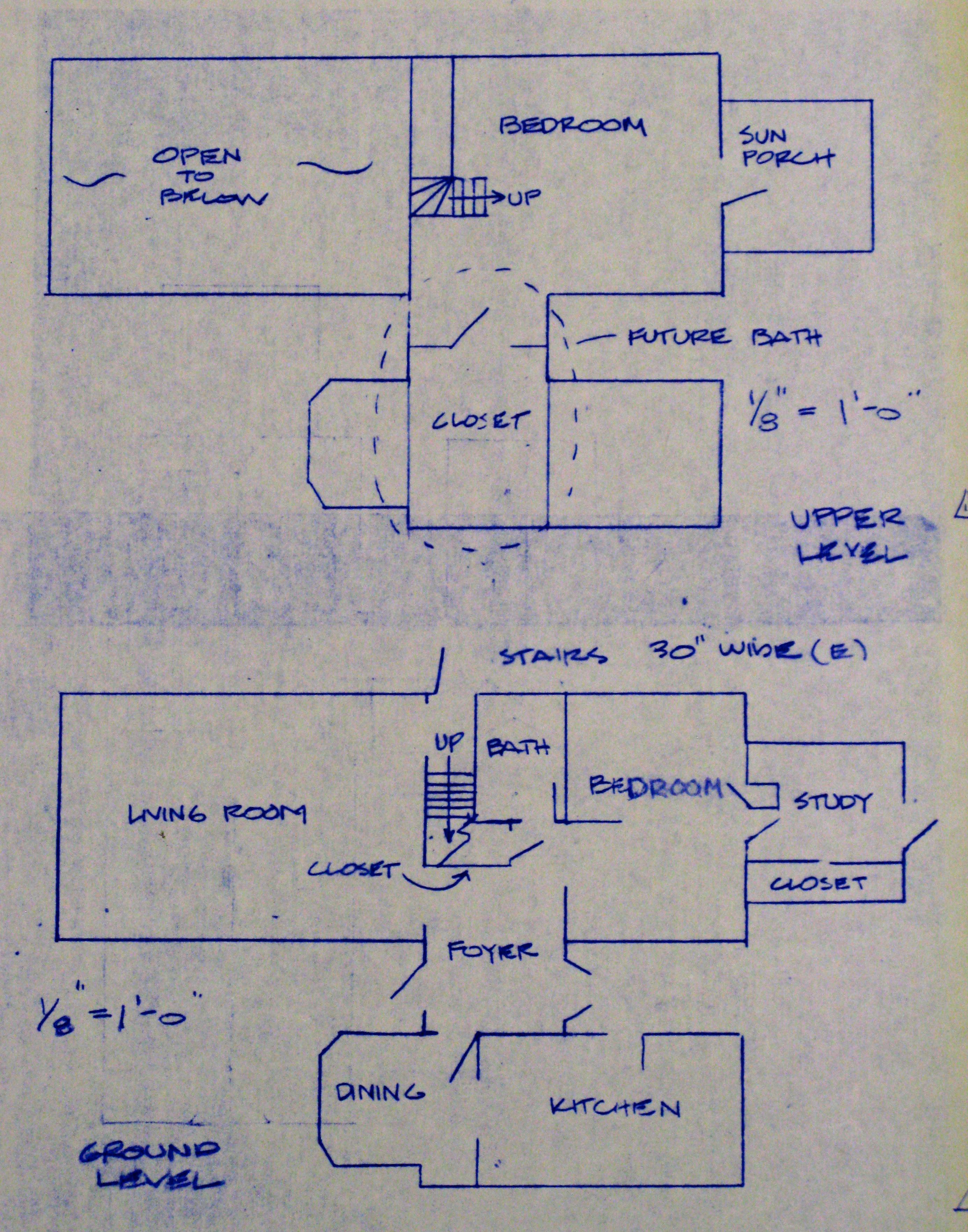 Hugh Comstock Floor Plans