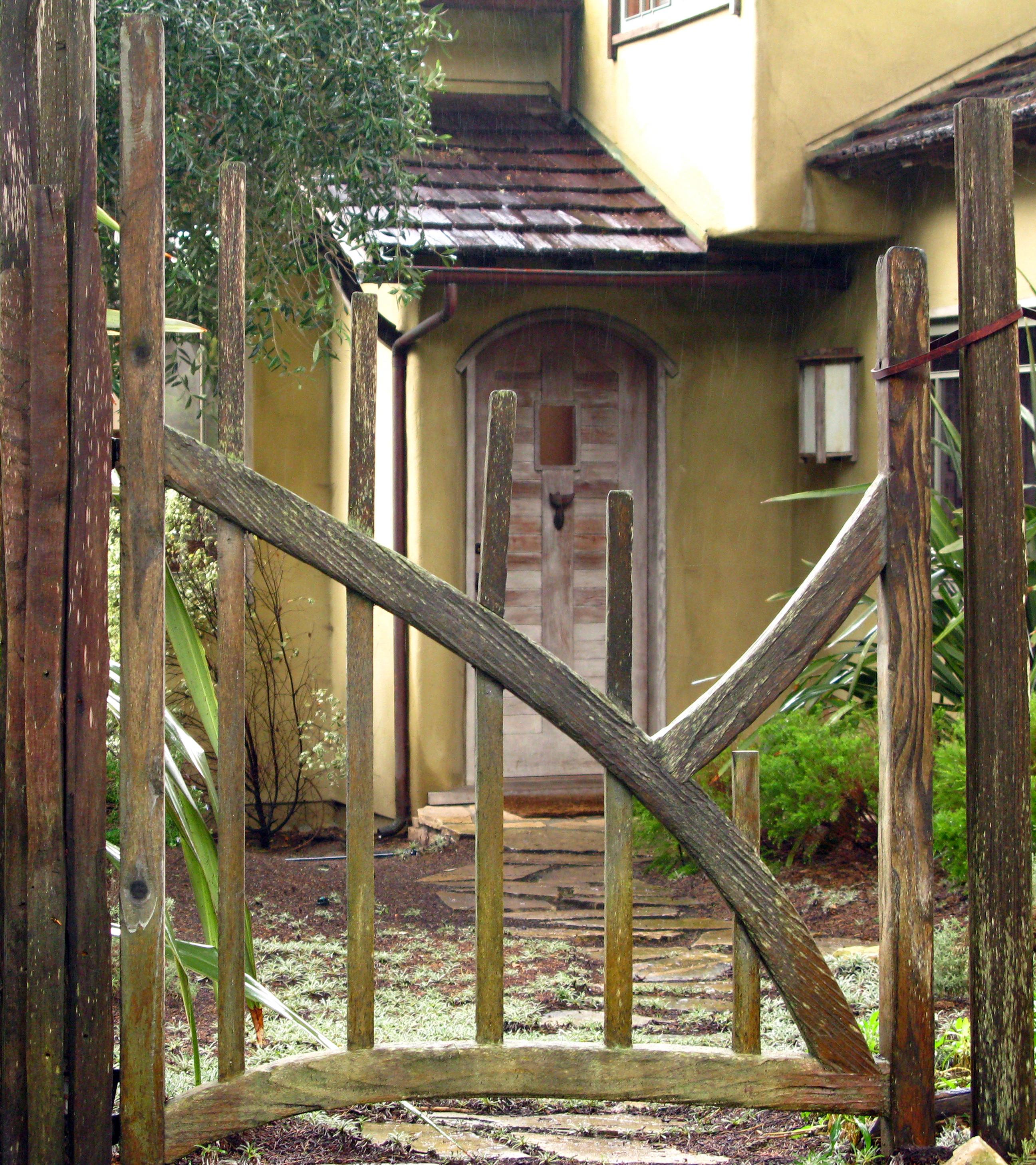 Fences And Gates: PDF How To Build A Backyard Fence Gate DIY Free Plans