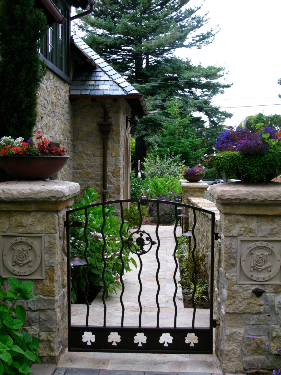 """""""the fence that makes good neighbors…needs a gate to make"""