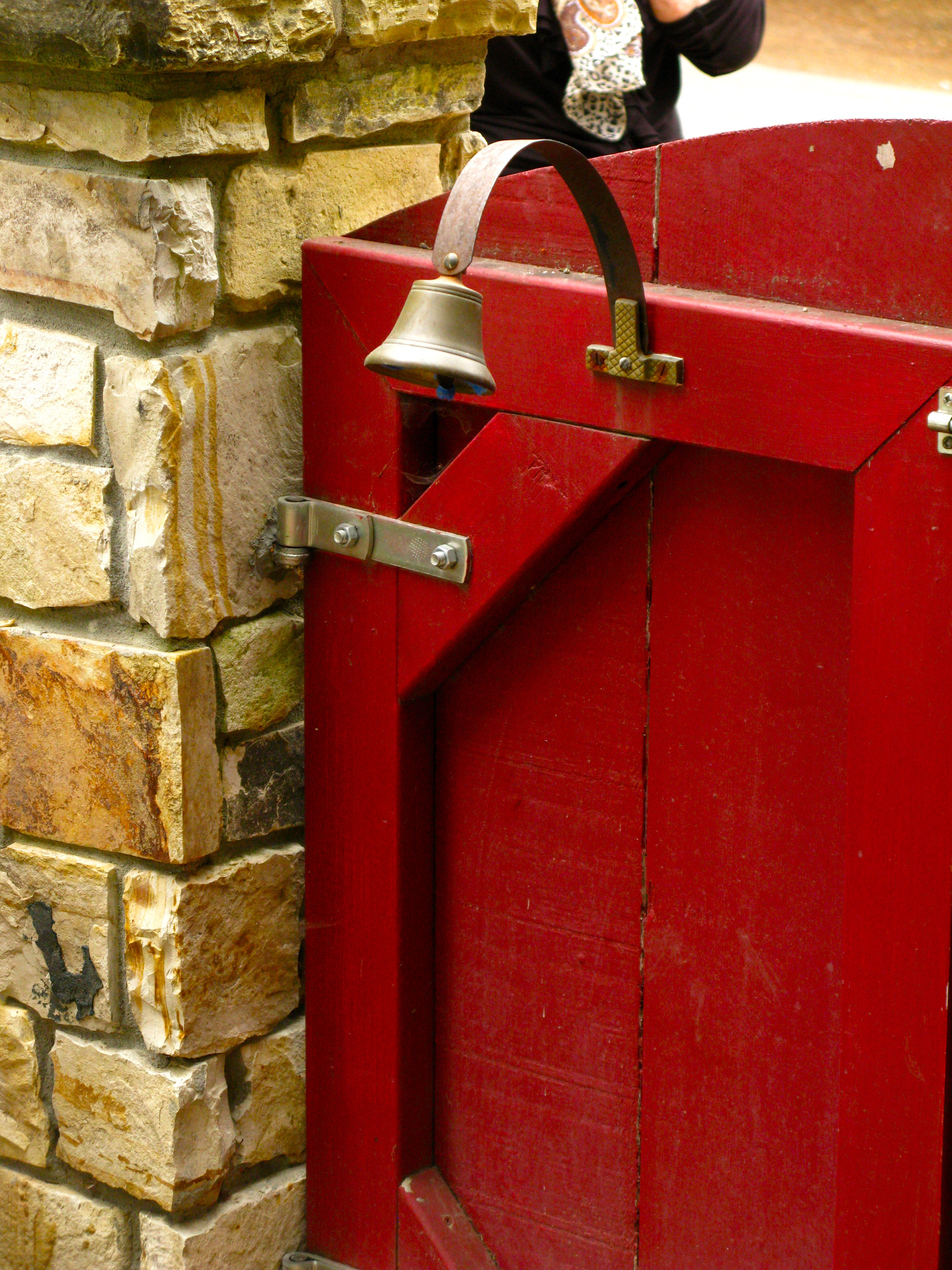 Curious Carmel Customs The Cowbell As A Door Bell Once