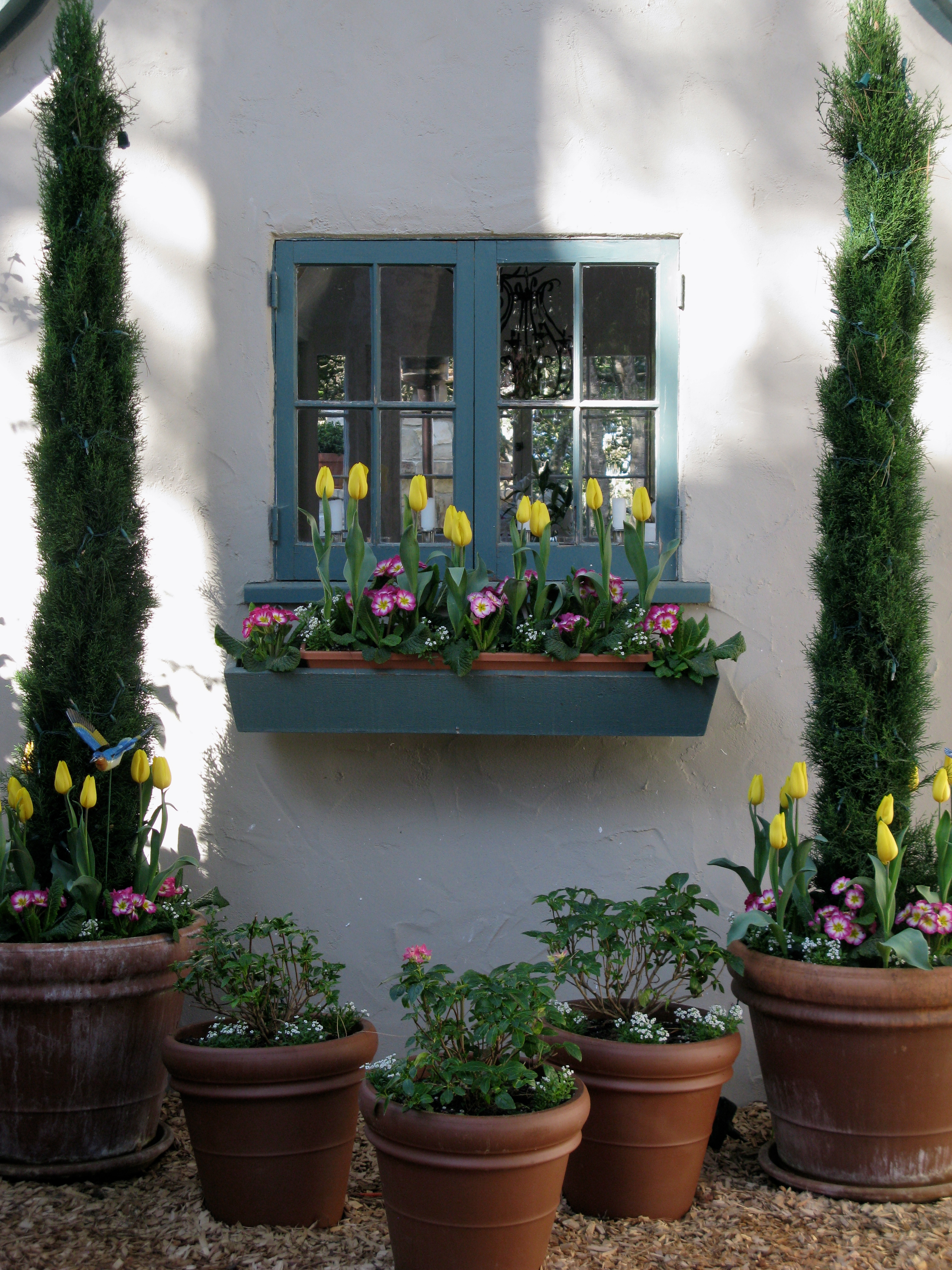 WINDOW BOXES IN CARMEL – ADDING CHARM TO THE FAIRYTALE COTTAGE