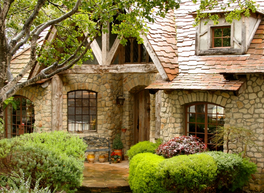 Image Result For Stone Cottage In The Woods