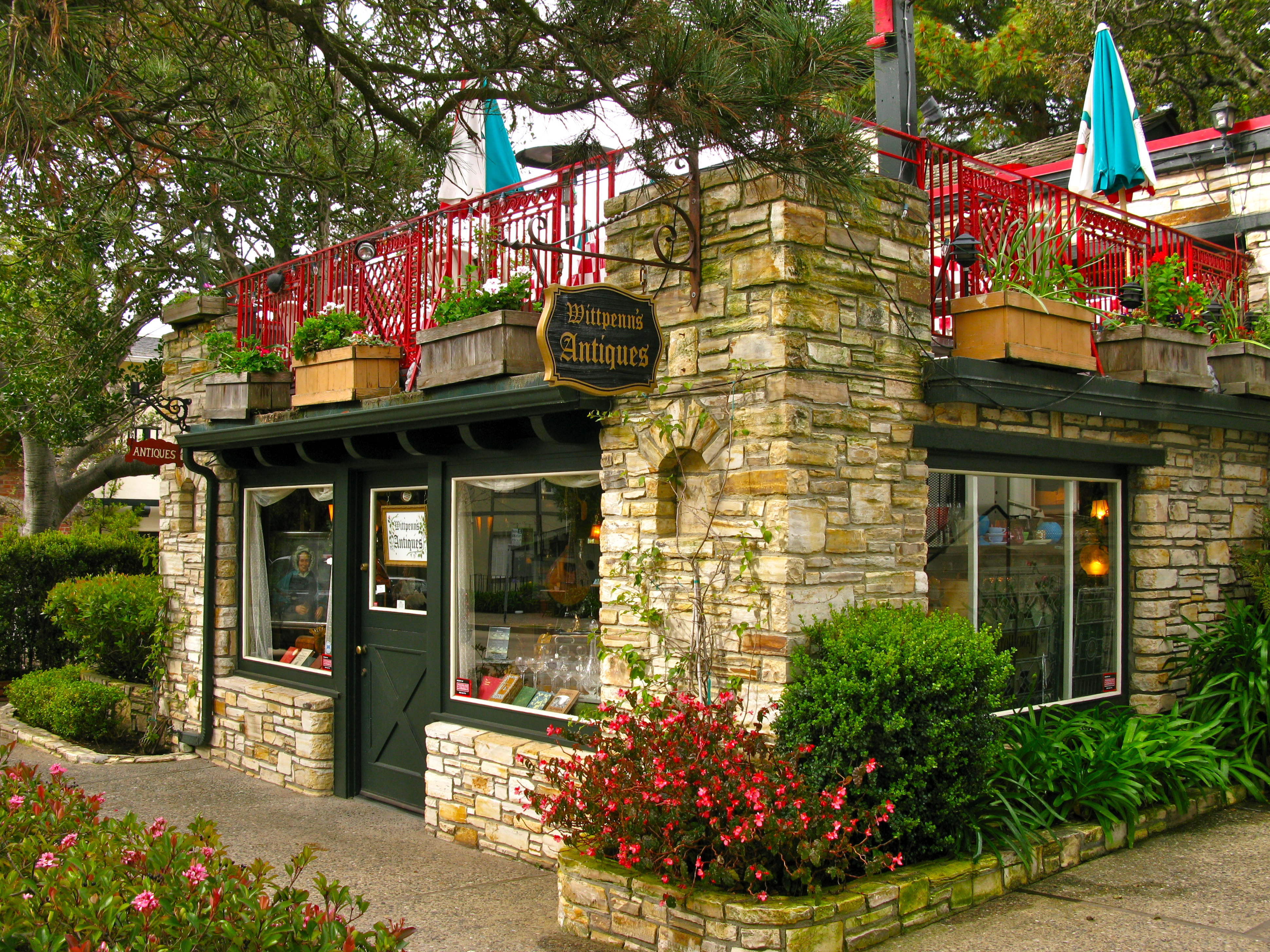 WITTPENN\'S ANTIQUES IN CARMEL-BY-THE SEA | Once upon a time..Tales ...