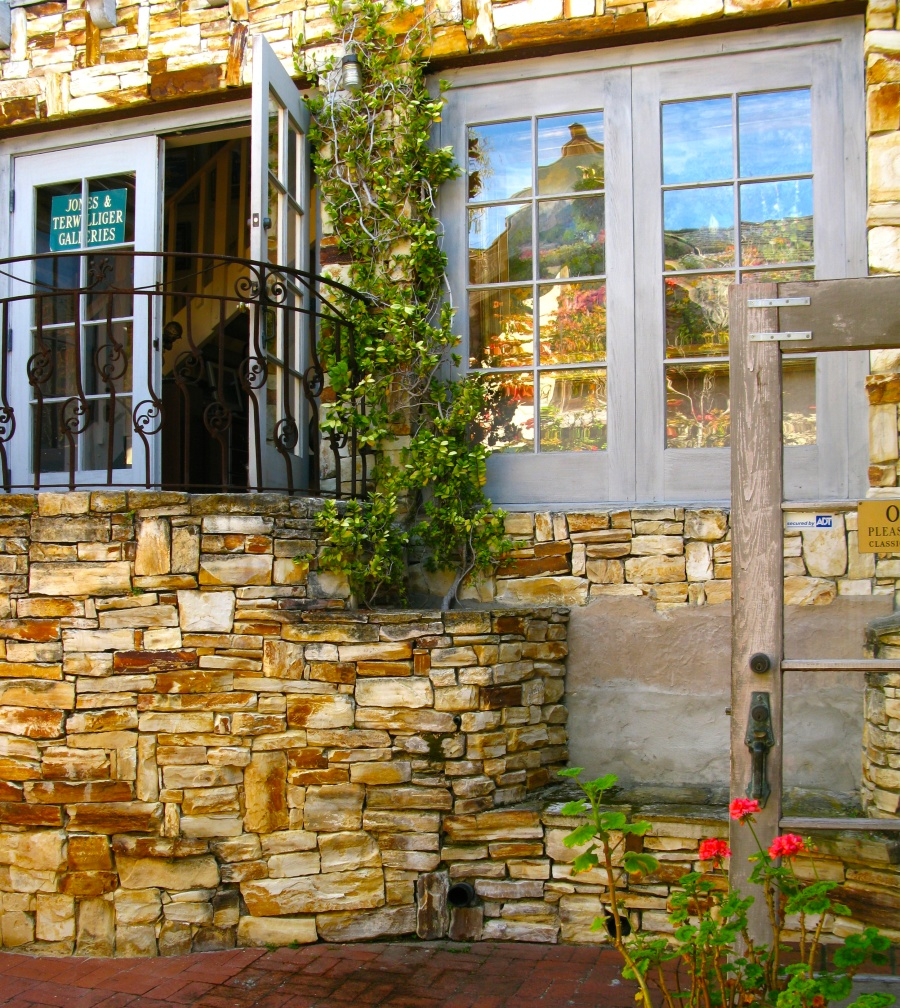 Serena Court One Of Carmel S Hidden Courtyards Once