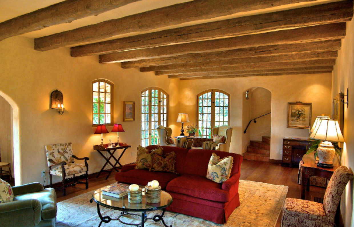 Ceiling Beams Spanish Style And Beams On Pinterest