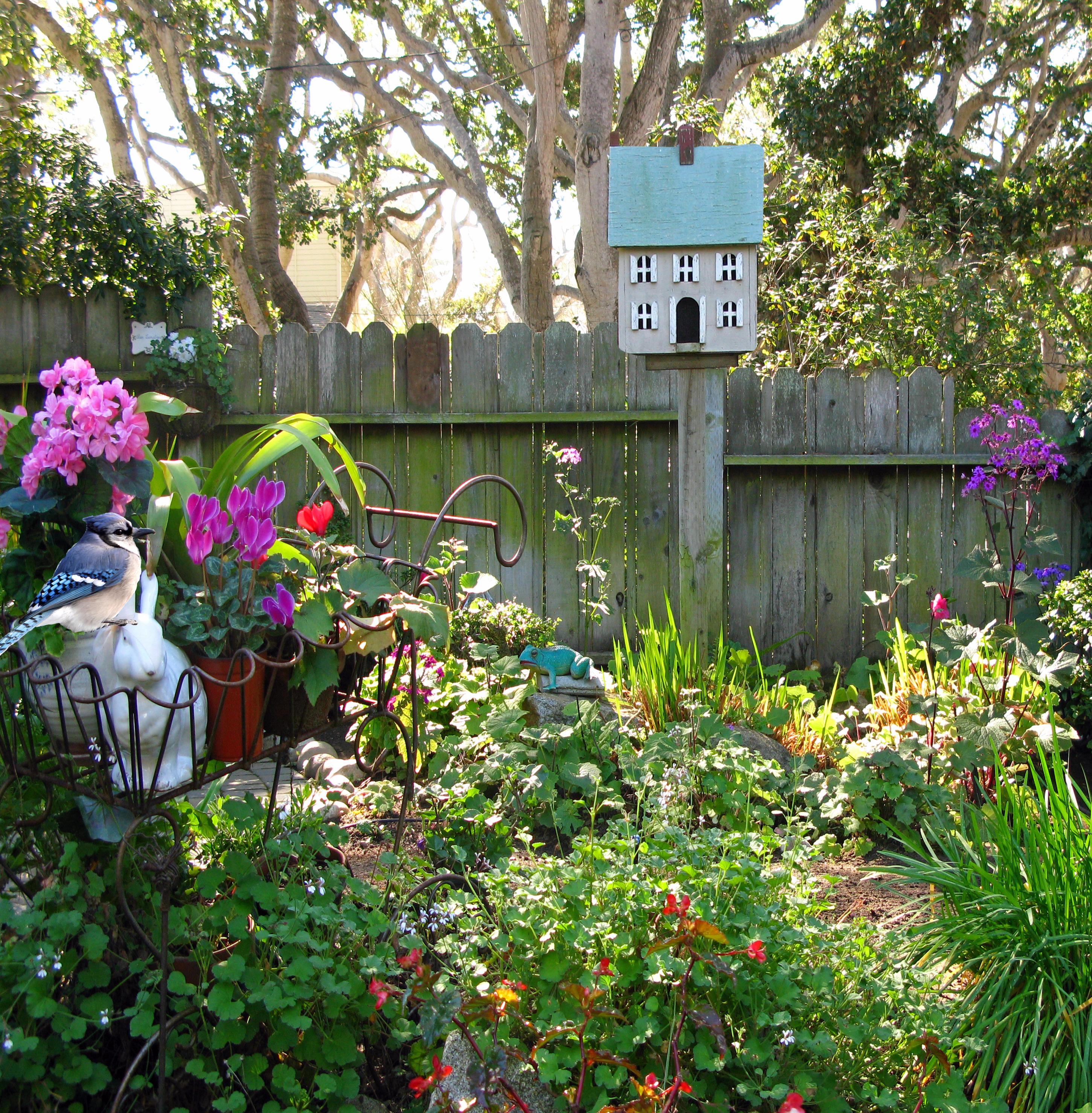 Garden Cottage: CARMEL'S COTTAGE GARDENS- ADDING FOCAL POINTS