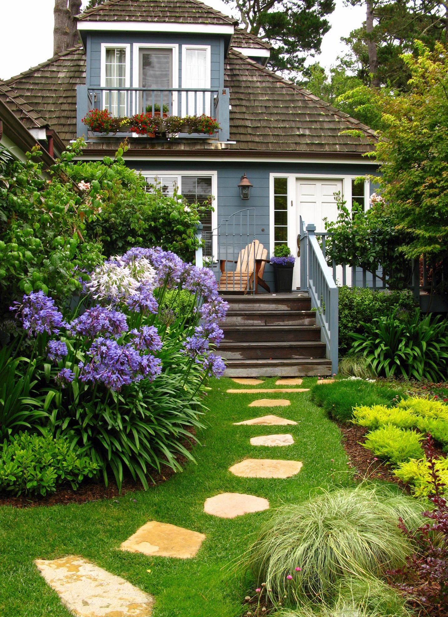 CARMEL'S COTTAGE GARDENS- Stitching The Garden Together
