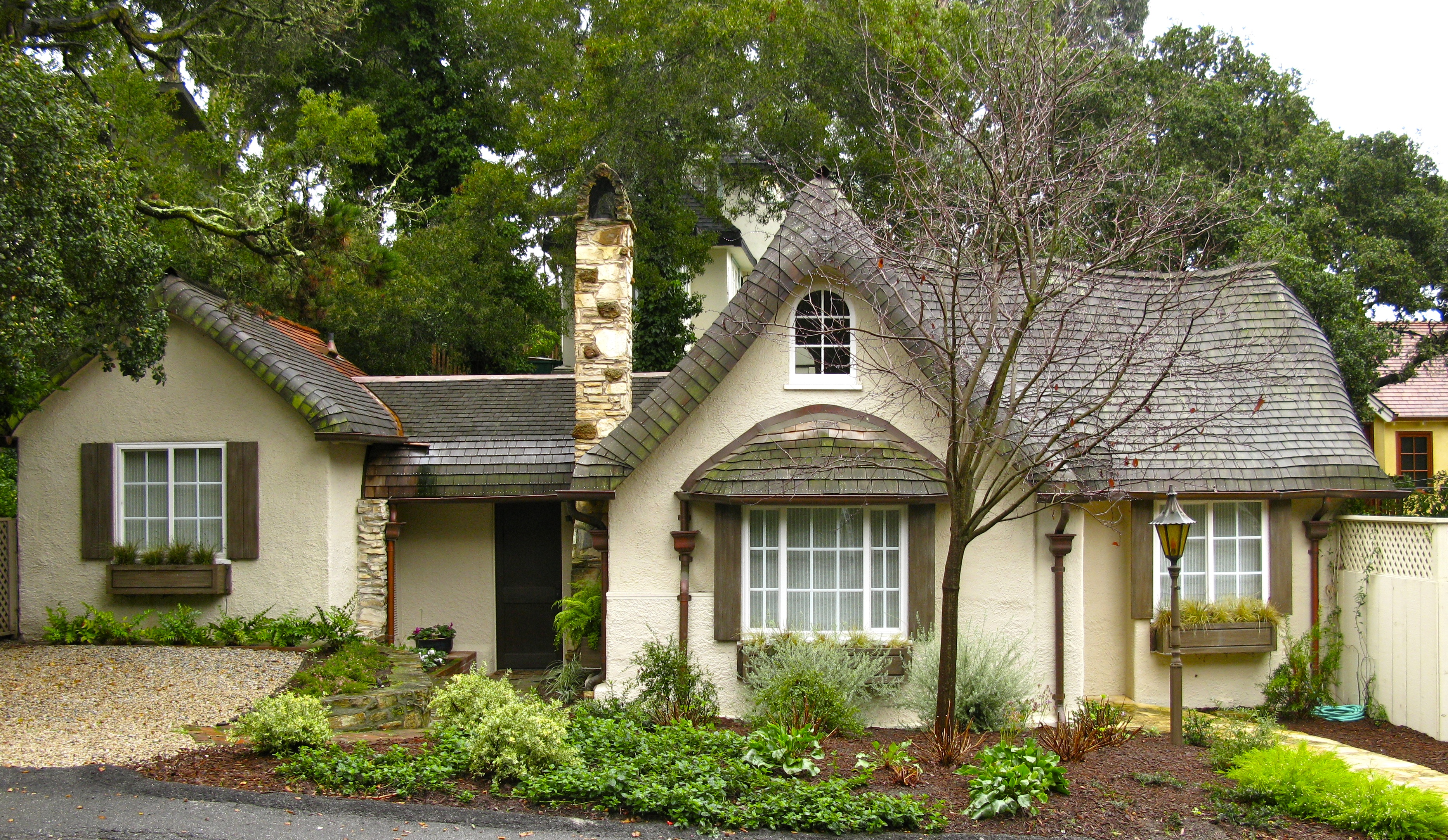 The Grant Wallace Cottage- On Carmel's Historic Register