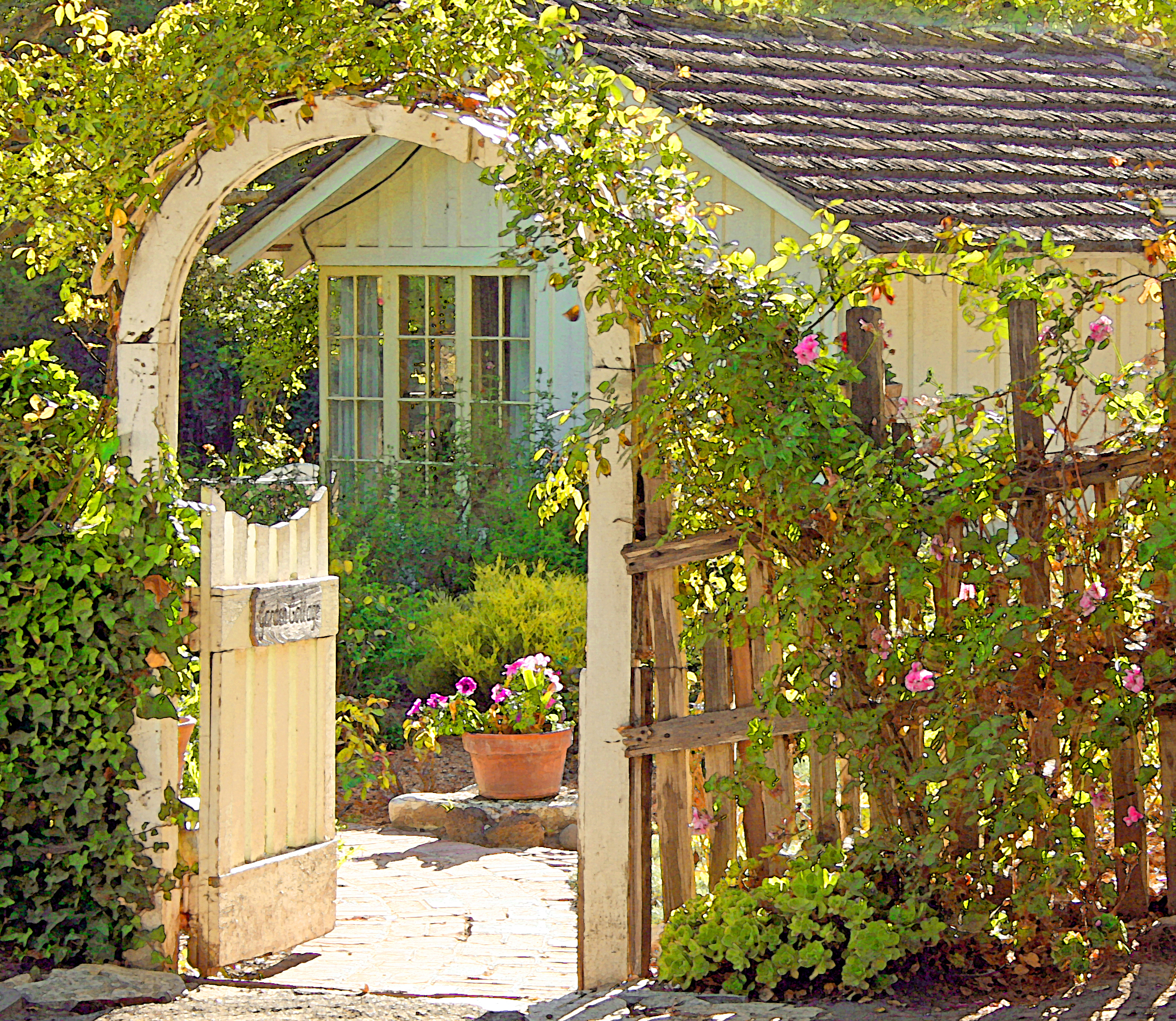 Garden Cottage Once Upon A Time Tales From Carmel By