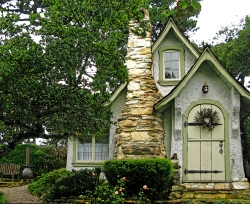 Hansel built by Hugh Comstock-On Carmel's Historic Register of Homes