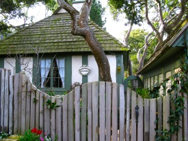 Hugh Comstock's Honeymoon Cottage- On Carmel's Historic Registrer of Homes