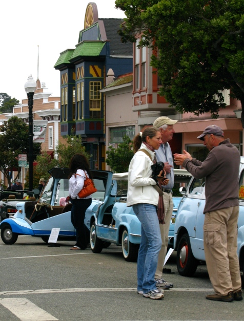 "In Pacific Grove- they celebrate the ""Little Car"""