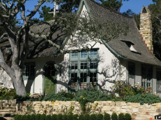 The Hugh Comstock Home- formerly Obers On Carmel's Historic Registrer of Homes