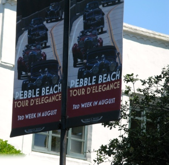 One event is the Pebble Beach Tour Delegance