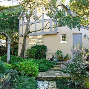 The Birthday House built by Hugh Comstock On Carmel's Historic Registrer of Homes
