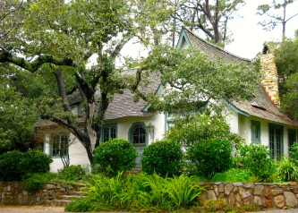 The Hugh Comstock Home - on the Carmel Register of Historic Homes