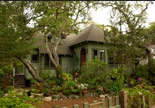 Dormidera- The Abby McDowell House On Carmel's Historic Register of Homes