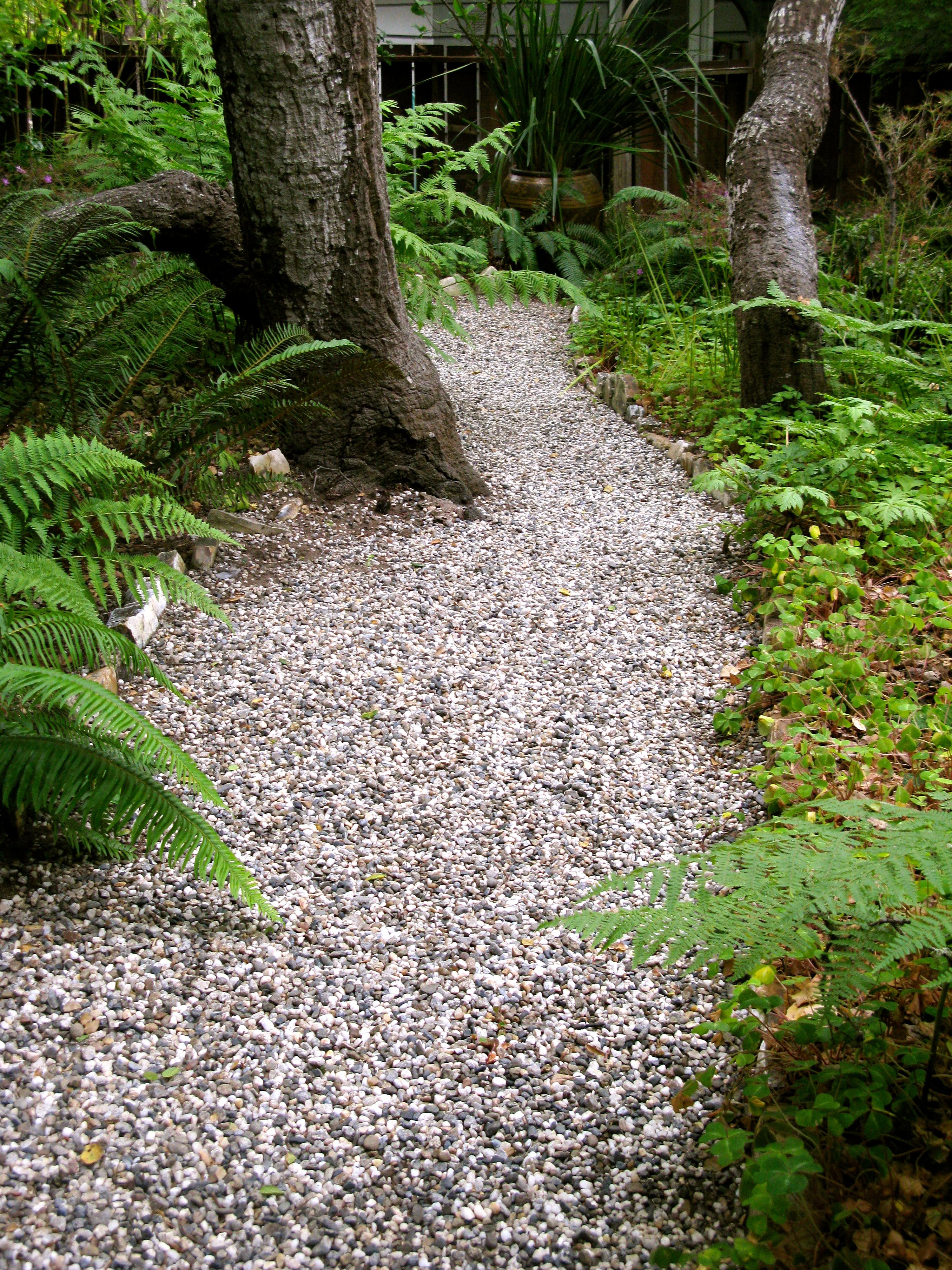 Gravel garden path outdoor pinterest for Garden path