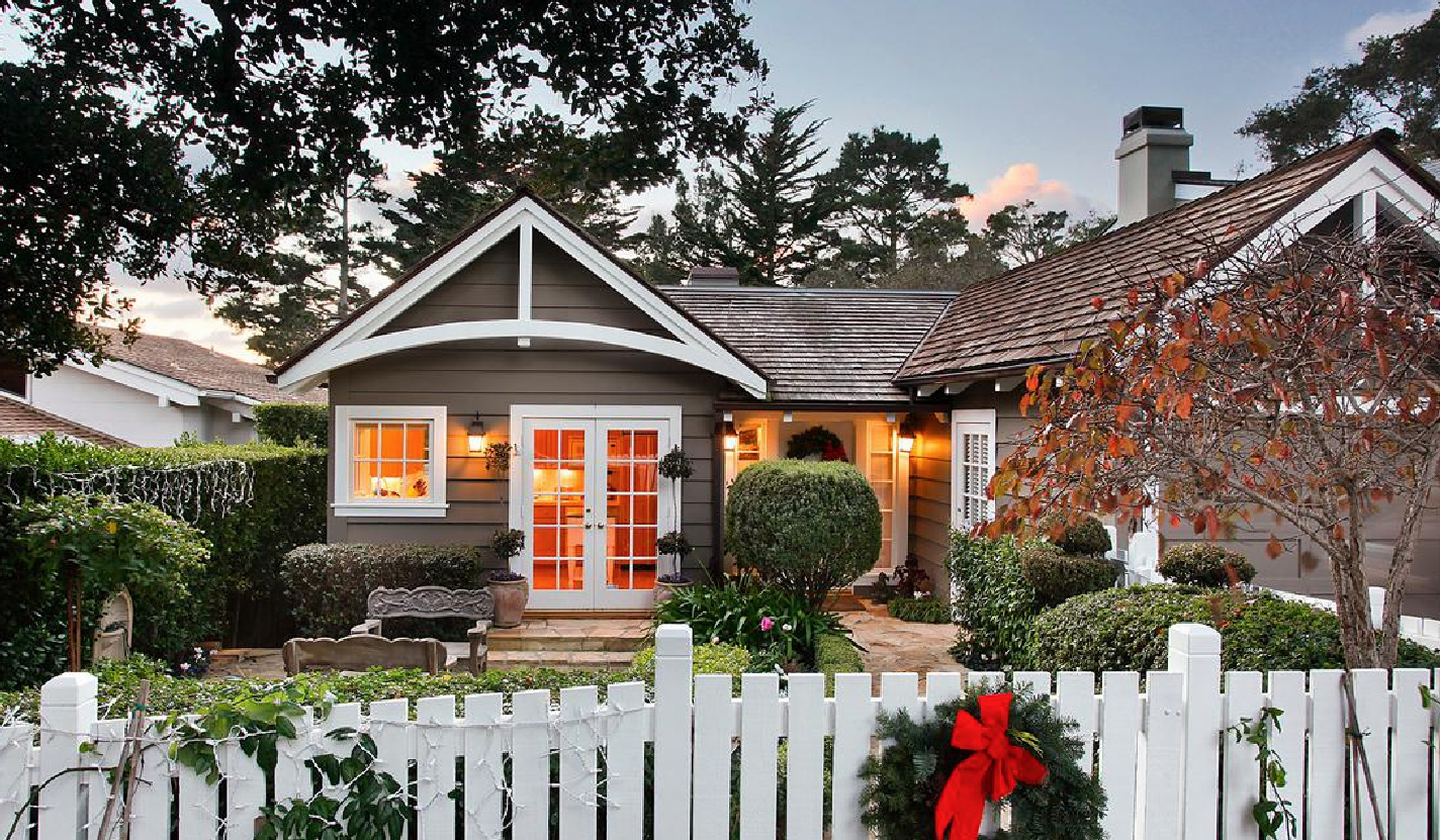 Celebrate Christmas In Carmel At Garden Gate Cottage