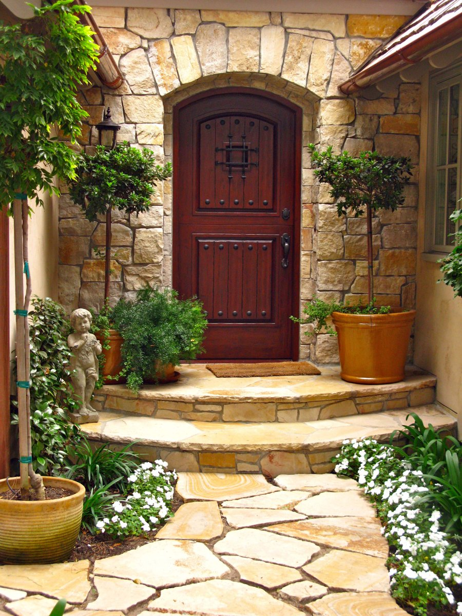 path and doorway surround